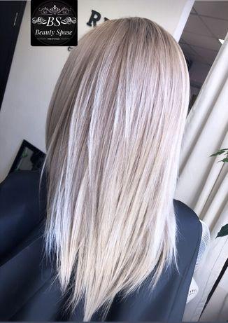 Окрашивание волос, блонд, балаяж и т.д.