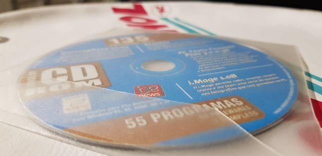 CD ROM 55 programas
