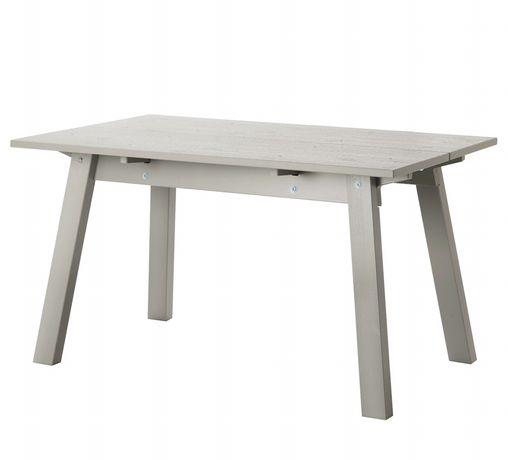 INDUSTRIELL Stół, jasnoszary, 135x80 cm