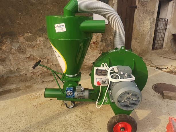 Przenośnik pneumatyczny do ziarna T422 o mocy 11 kW