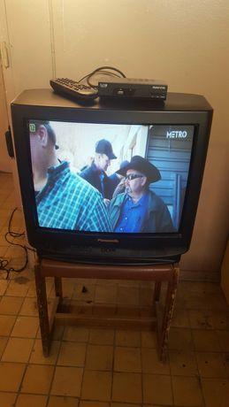 Telewizor 21cali + dekoder dvb-t i kabel euro
