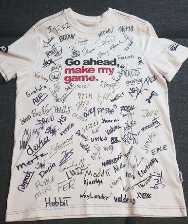 Koszulka z Autografami PRO PLAYERÓW CS:GO Jedyna Taka