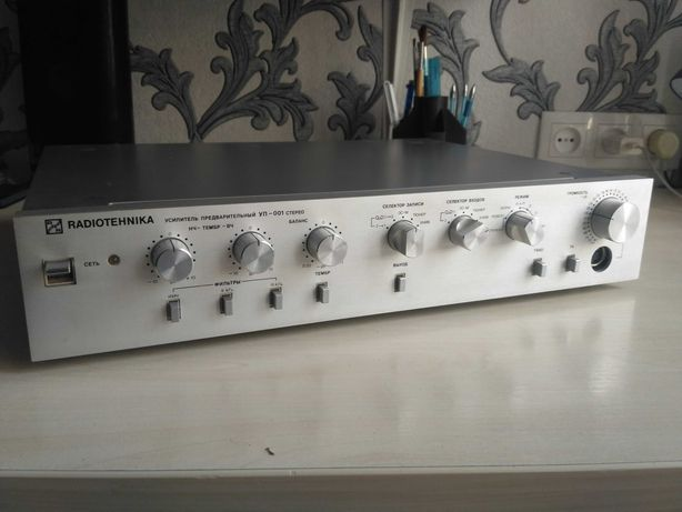 Radiotehnika уп-001 Радиотехника уп001