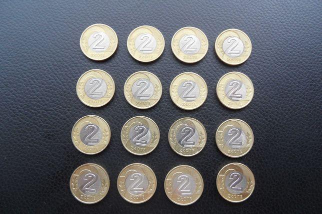 Monety obiegowe 2 zł wszystkie roczniki 1994/2021 komplet kolekcja