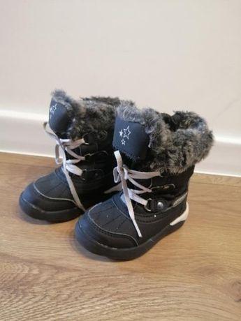 Śniegowce, buty zimowe roz. 22