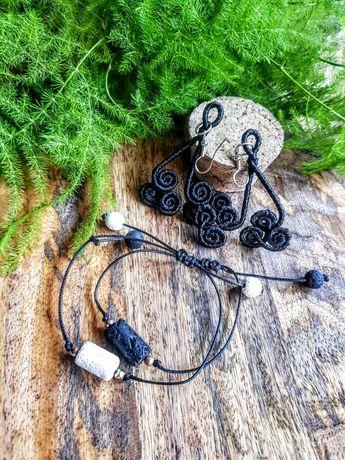 Biżuteria bransolety+ kolczyki