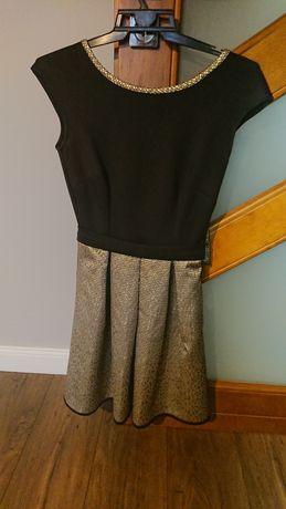 Sukiena czarno-złota