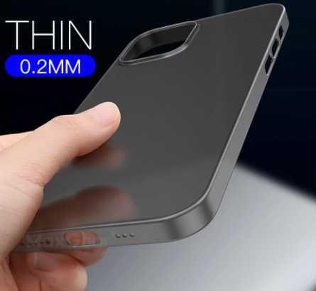 Capa para Iphone 12 Pro Max Ultra Fina 0.2mm PP
