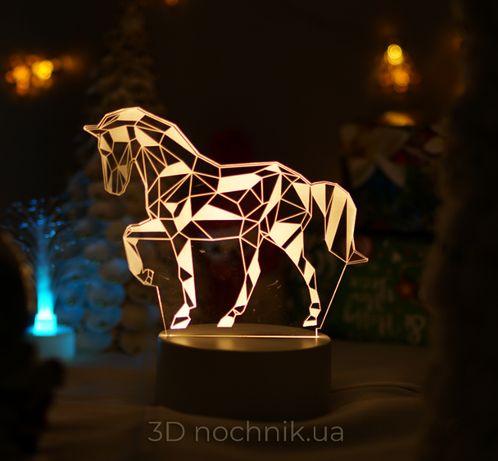 3D ночник светильник лампа с эффектом 3D для домашнего уюта