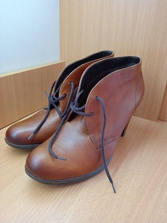 Кожаные ботинки туфли REMONTE DORNDORF