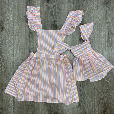 Платья для мамы и дочки на фотосессию