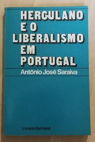herculano e o liberalismo em portugal, antónio josé saraiva