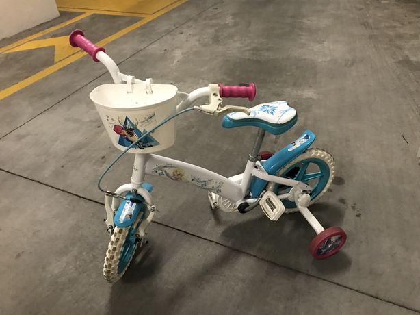 "Bicicleta Frozen roda 12"" infantil"