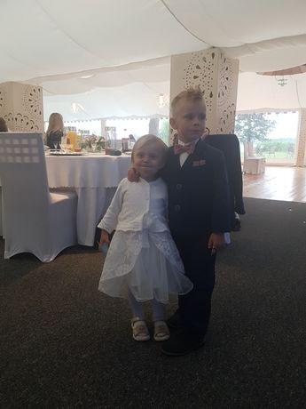 Elegancka Sukienka na chrzest, wesele, impreze okolicznościową,