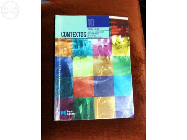 """Livro filosofia 10º """"contextos"""""""