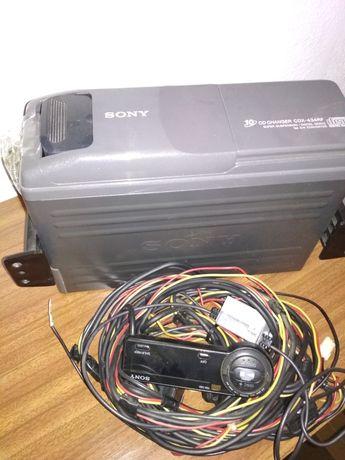 Caixa multicd's Sony para carro