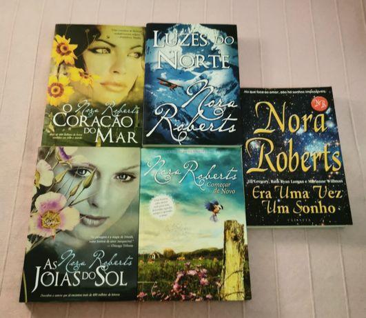 Livros J. R. Ward e Nora Roberts