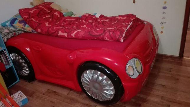 Łóżko samochód bez materaca