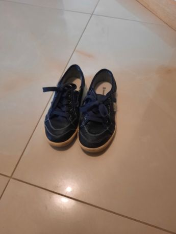 Buty chłopięce skórzane