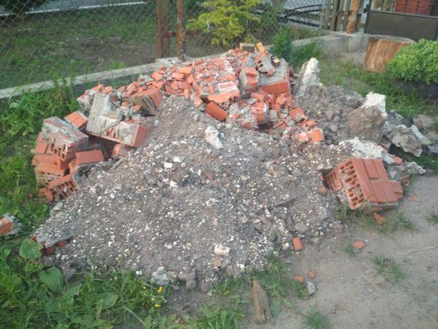 Відходи, селікатна цегла, бетон