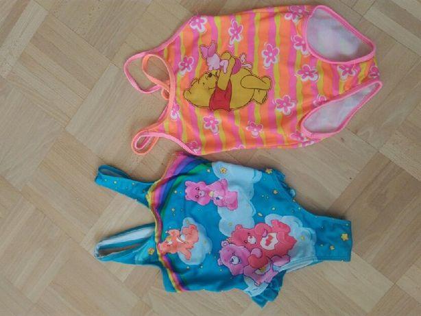 strój kąpielowy 4 latka- 2 sztuki