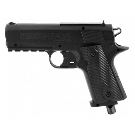 Pistolet wiatrówka4,5 mm BB CO2 colt1911 baby