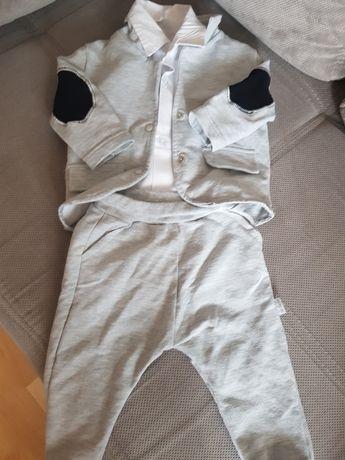 Garnitur dresowy 68 plus  koszula i polo