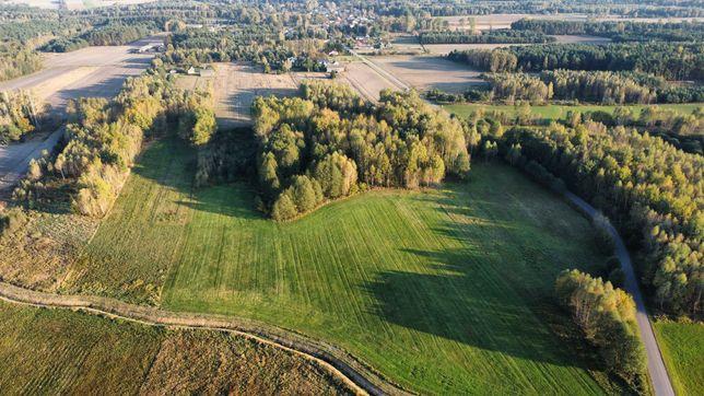 Sprzedam 6,5 ha -  piękna działka rolna, las i łąka w jednym kawałku.