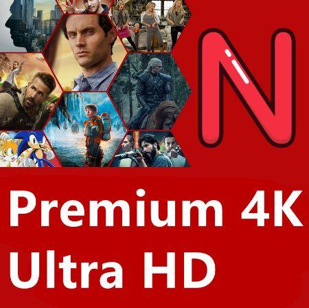 4K Netlix/HBOgo/VideoPrime 3/6/12msc PRYWATNIE