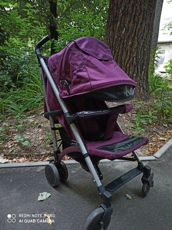 Прогулочная коляска-трость BABY hit reinbow
