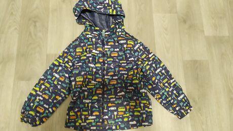 Дождевик куртка курточка ветровка мальчику машинки 3-4-5 лет Tu