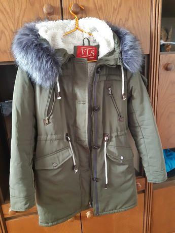 Куртка зимняя девочка подросток 12 - 13 лет