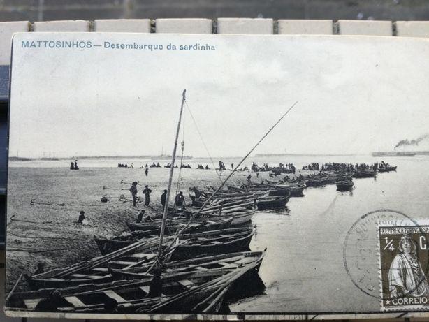 Postal 1900 Porto Leixões Raro