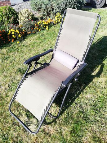Leżak ogrodowy, duży, krzesło ogrodowe, wygodny