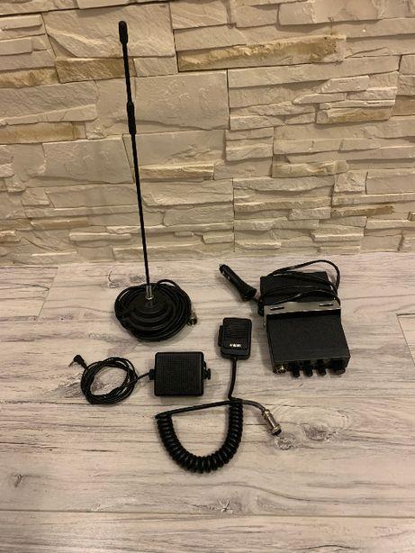 CB Radio Uniden Pro 520 XL (President) z anteną i głośnikiem
