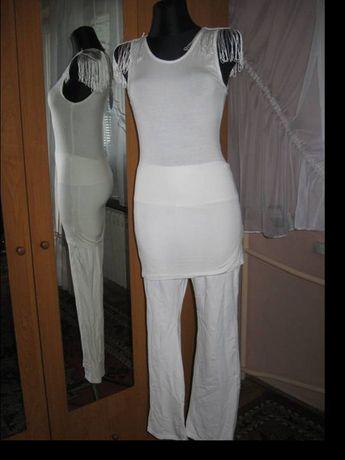 Zestaw Tunika i Spodnie R.M/L jak Nowe