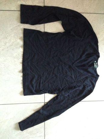Sweterek czarny w serek 14-16 Marilyn Anselm Hobbs
