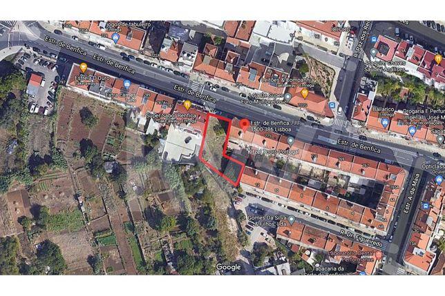 Lote Terreno P/ Construção de 2 Prédios de Habitação - Benfica, Lisboa