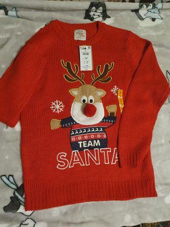 Nowy sweter świąteczny house