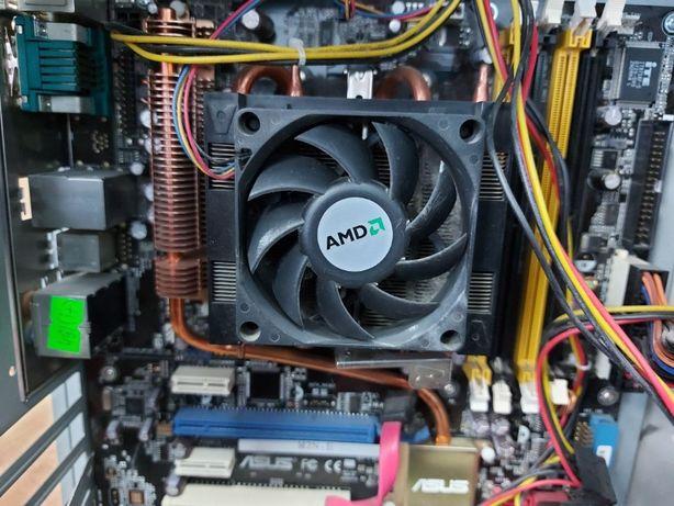 2 системника на запчасти+2материнки+HDD 320|80GB+4 RAM планки