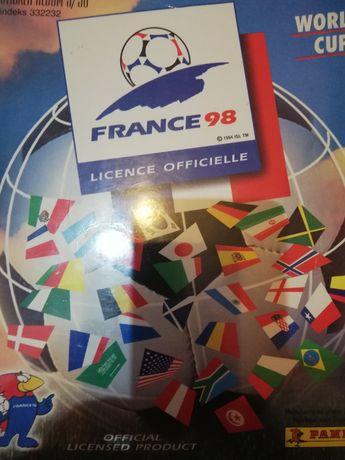 Naklejki Panini FIFA World Cup 1998 France