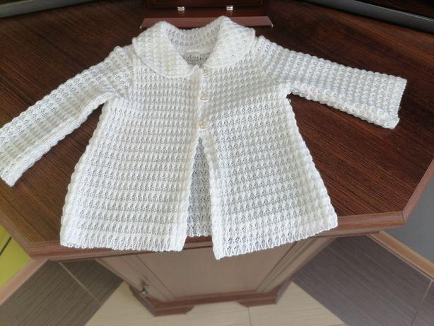 Sweterek dla dziewczynki r.62
