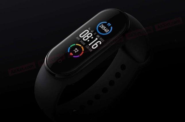 Фитнес-браслет Xiaomi Mi Smart Band 5 Black стильный