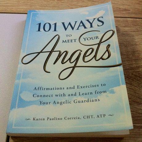Livro 101 maneiras de conhecer os anjos - 101 ways to meet your angels