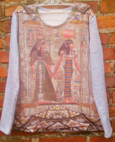 Bluza z nadrukiem Kleopatra