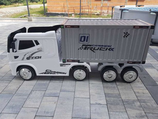Auto ciężarowe, ciężarówka na akumulator +paka
