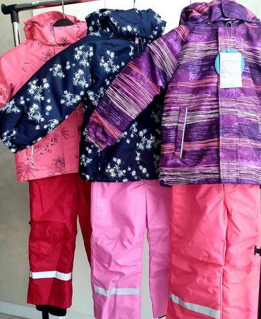 FREE доставка. Детский зимний комбинезон костюм для девочки Lassie