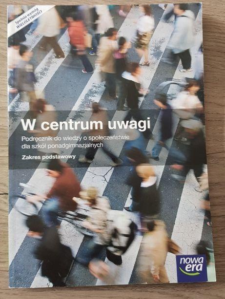 Podręcznik WOS W centrum uwagi ponadgimnazjalne