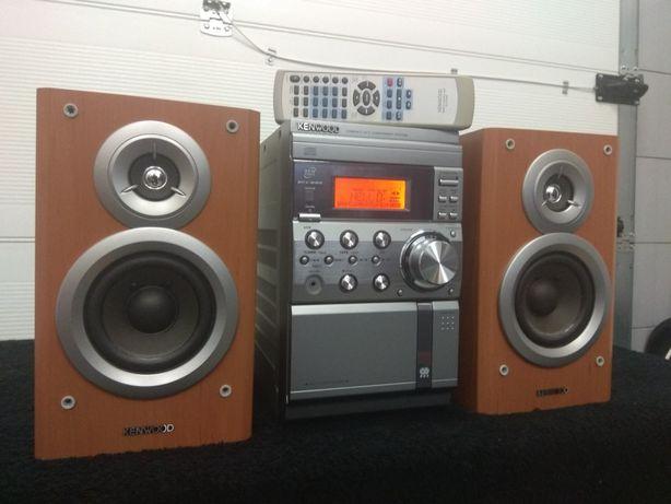 Kenwood RXD-M57WM mini wieża.USB. MP3. Kolumny. Pilot.