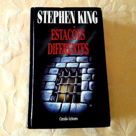 Stephen King - Estações Diferentes - USADO como novo